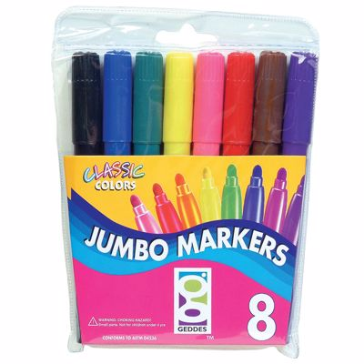 Picture of 8 CT. Jumbo Markers