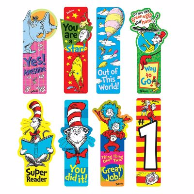 Picture of Dr. Seuss Incentive Bookmarks
