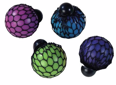 Picture of Rainbow Mesh Squeeze Balls
