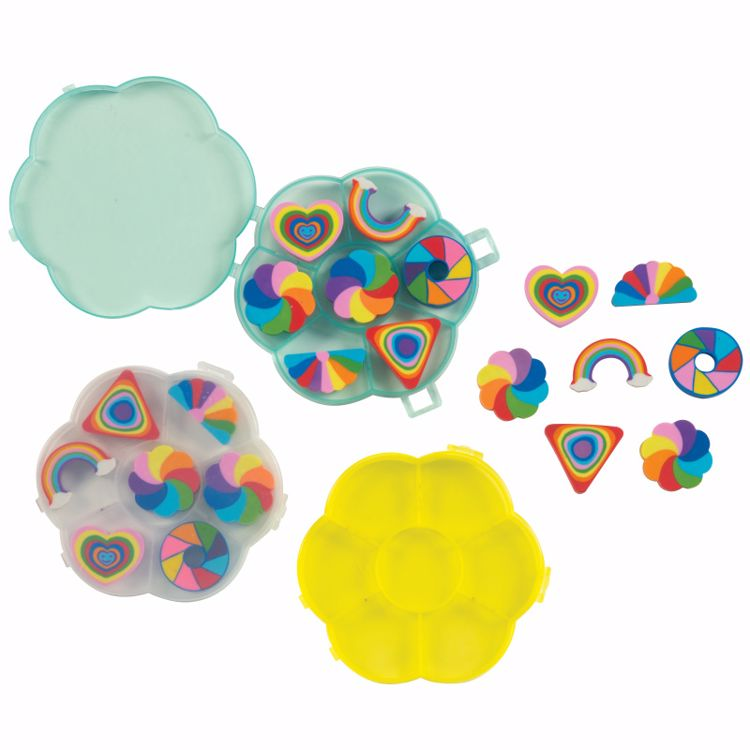 Picture of Seven Rainbows Erasers