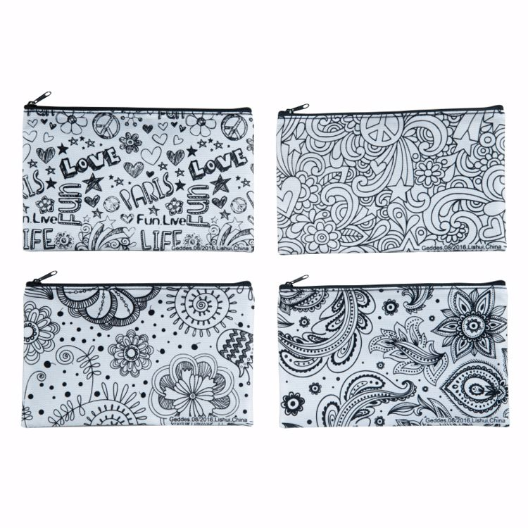 Picture of Color It! Pencil Pouches