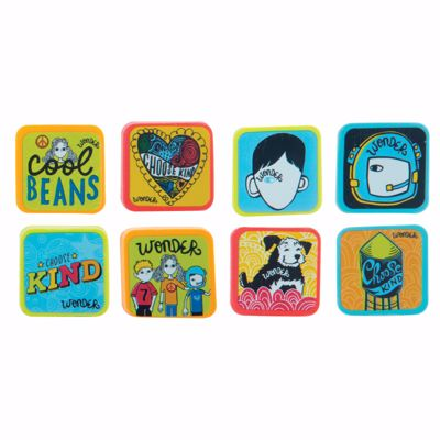 Picture of Wonder Square Erasers