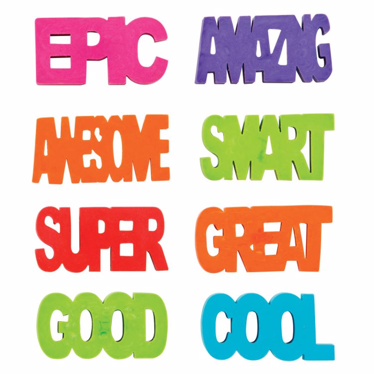 Picture of Positive Attitude Erasers