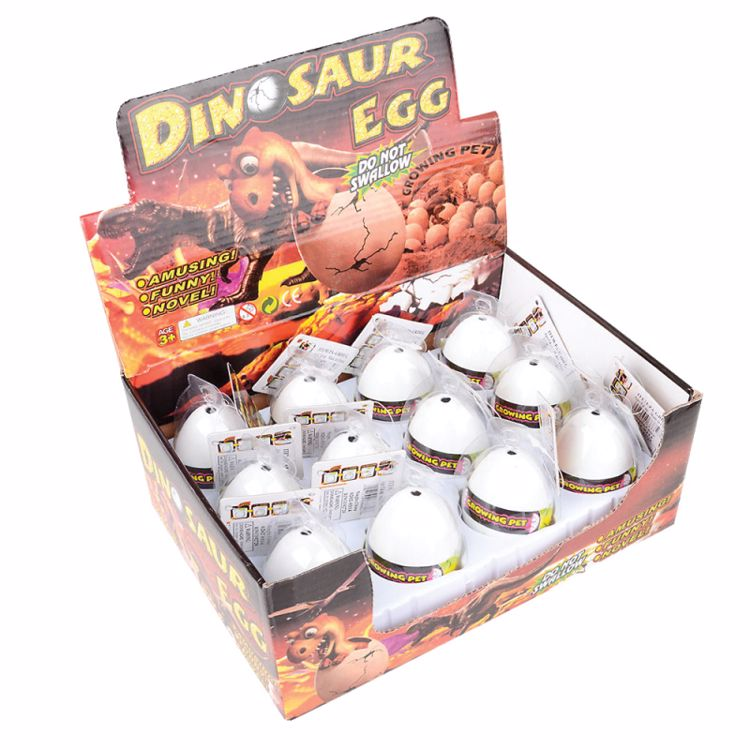 """Picture of 3"""" Grow Dino Eggs"""