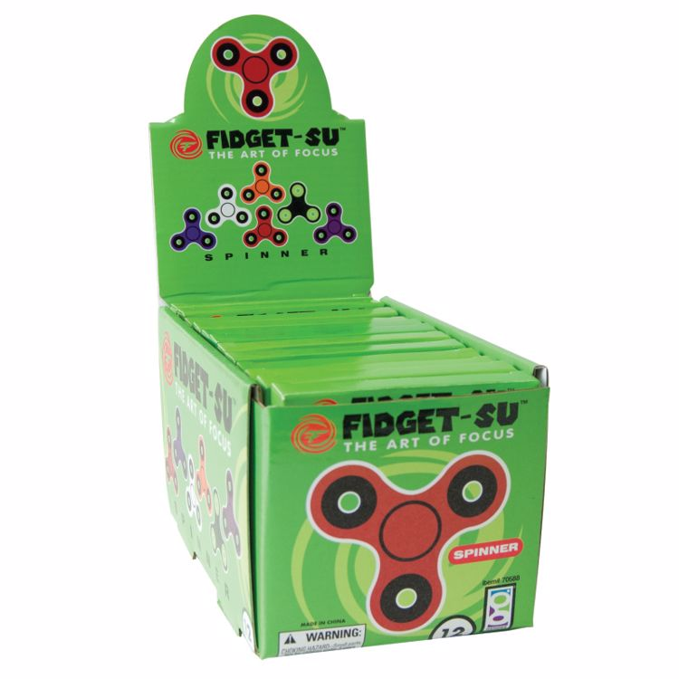 Picture of Fidget-Su Spinners (12-Pack)