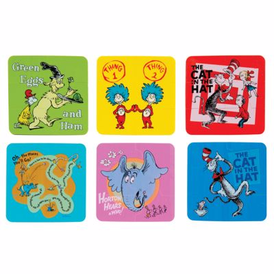 Picture of Dr. Seuss™ Puzzle Erasers