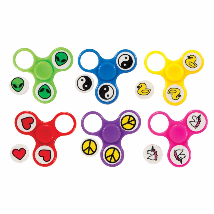 Picture of Fidget Su™ Pop Out Eraser Spinners