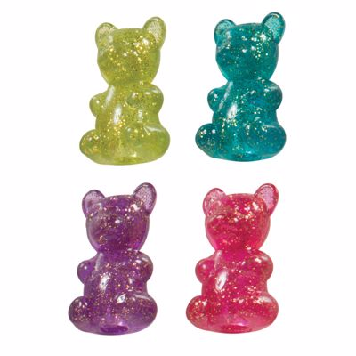 Picture of Sparkle Gummy Bear Pencil Toppers