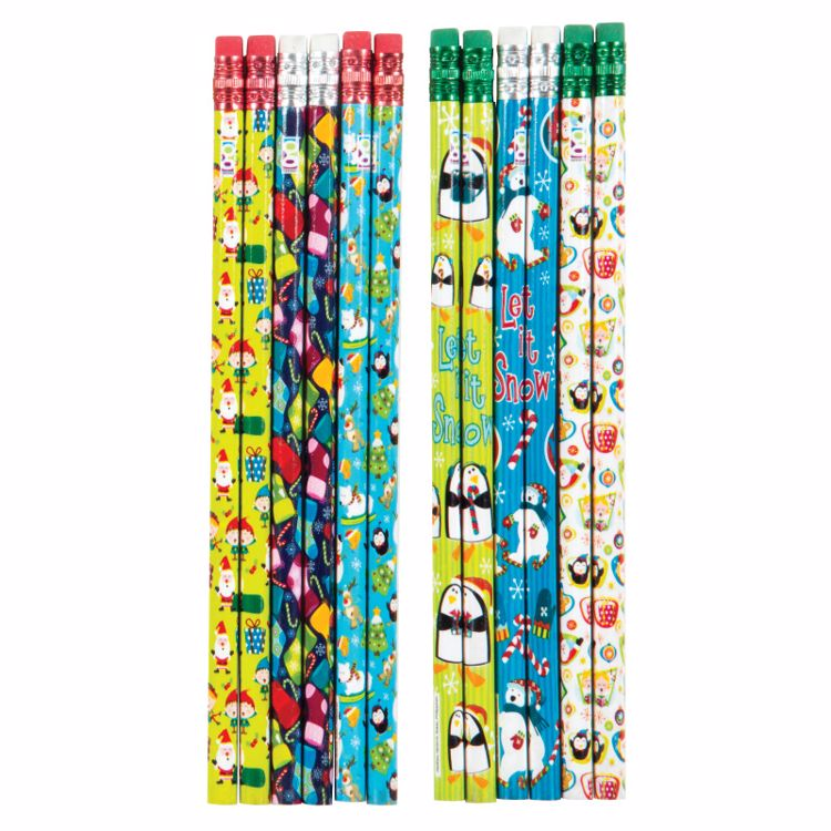 Picture of Christmas Pencils
