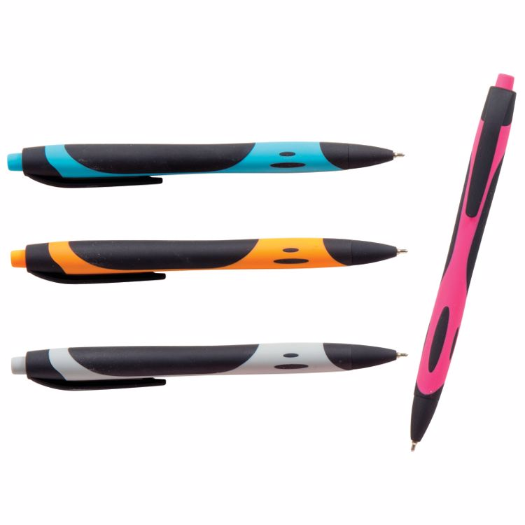 Picture of Soft Grip Colored Gel Pens