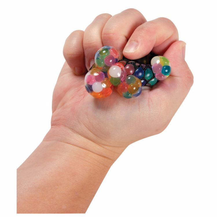 Picture of Mini Rainbow Mesh Blobbles Squeeze Balls