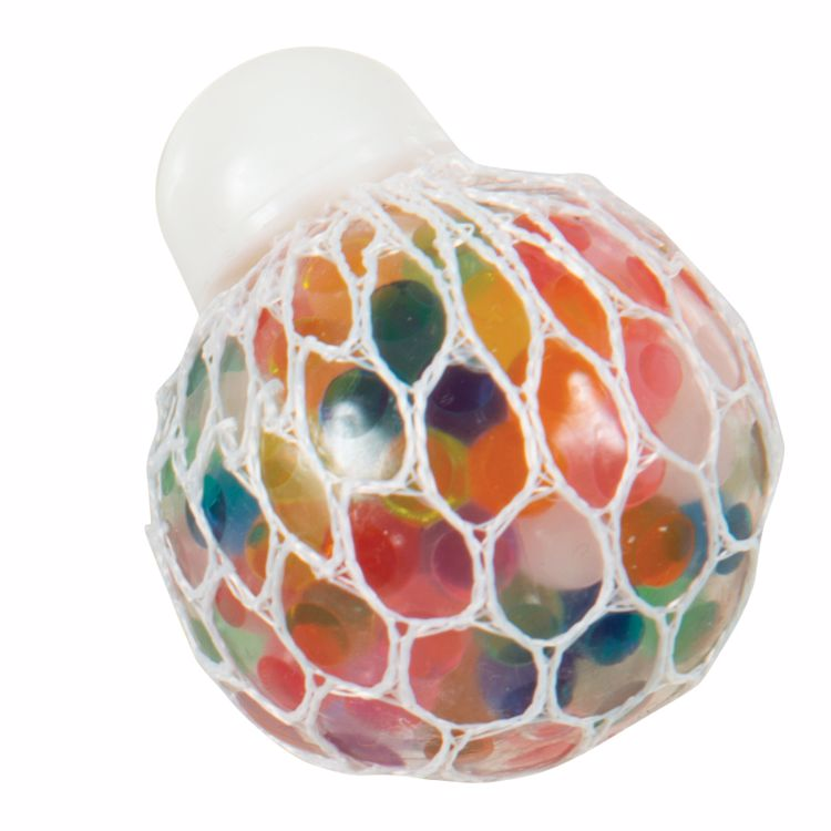 Picture of Rainbow Mesh Blobbles Squeeze Balls