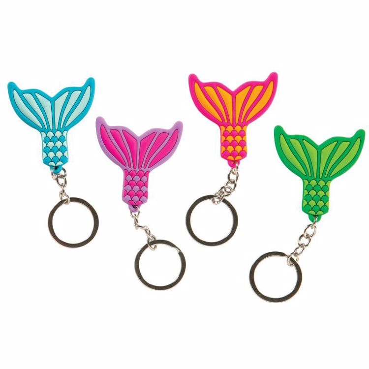 Picture of Mermaid Tail Laser Cut Keychain