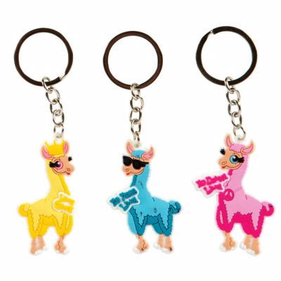 Picture of Laser Cut Llama Keychain