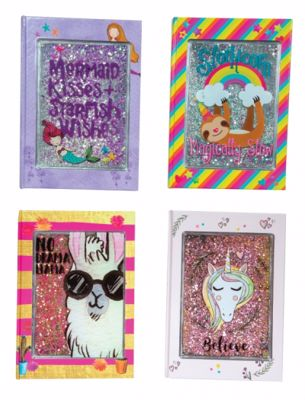 Picture of Glitter Cover Journals