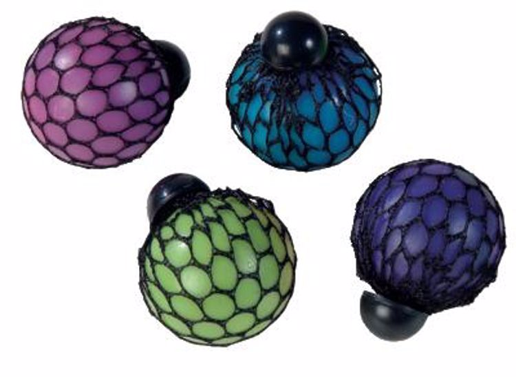 Picture of Rainbow Mesh Squeeze Ball