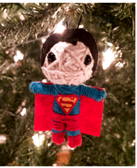 DC Comics String Doll Christmas Ornament
