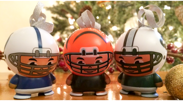 NFL Buildable Christmas Ornament