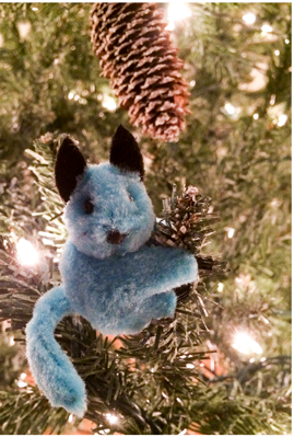 Clip on Critters Christmas Ornament