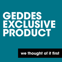 This product is exclusive to GEDDES!
