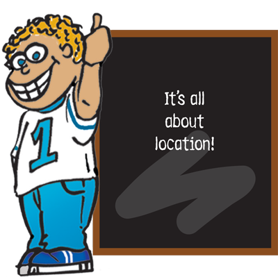 It's all about location for your school store.