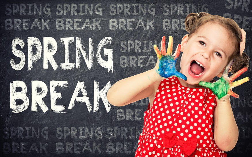 Spring Break Vacation from Routine, Not Learning