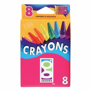 Picture of GEDDES Crayon Pack - 8-CT