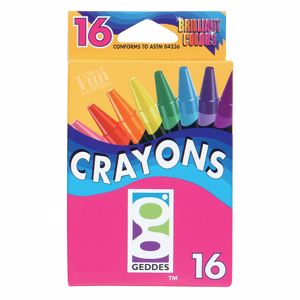 Picture of GEDDES Crayon Pack 16-CT