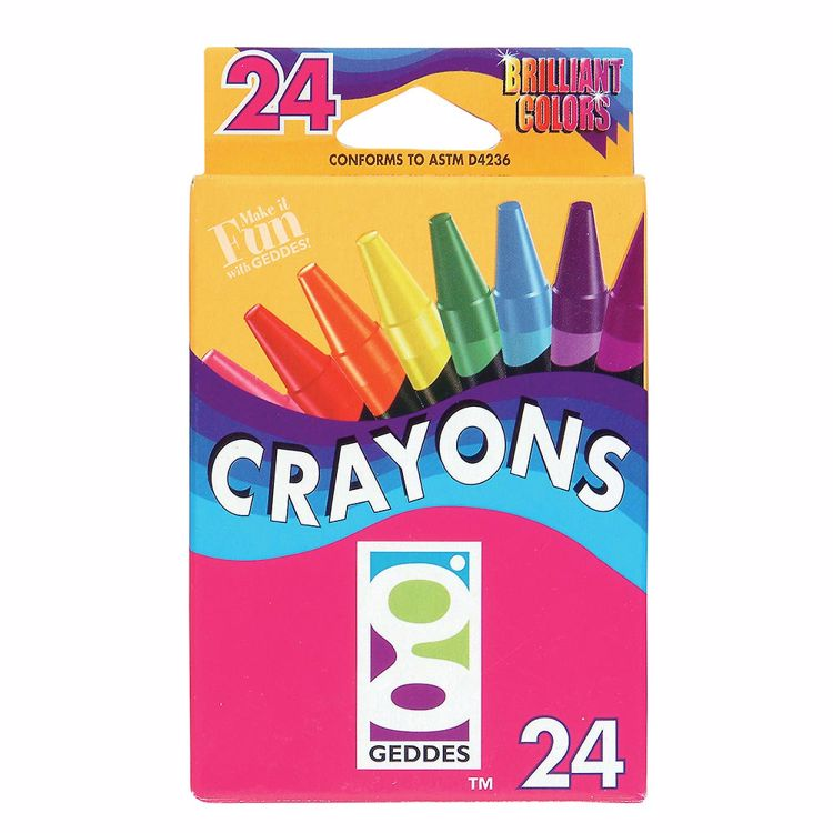 Picture of GEDDES 24-CT Crayon Pack