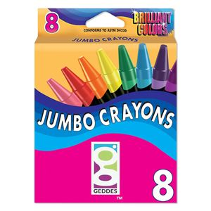 Picture of GEDDES 8-CT Jumbo Crayon Pack