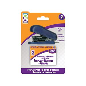 Picture of Home Office 1-Ct Pocket Stapler w. Staples
