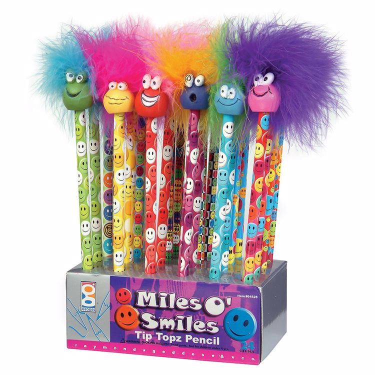 Picture of Miles O' Smiles Tip Topz Pencils