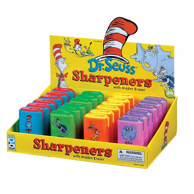 Picture of Dr. Seuss Sharpeners and Erasers