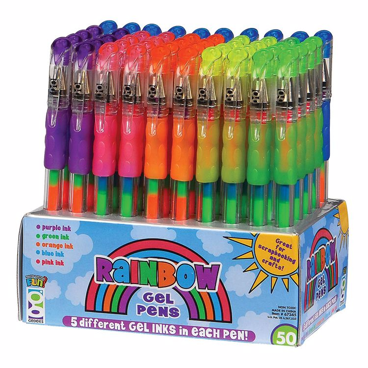 Picture of Rainbow Gel Pens