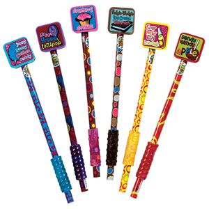 Picture of Scent-Sibles Pencils With Giant Erasers