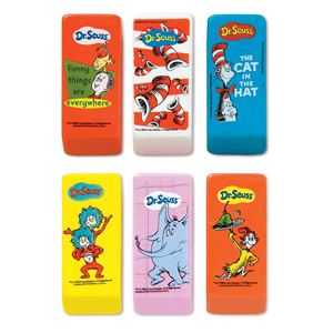 Picture of Dr. Seuss Beveled Erasers