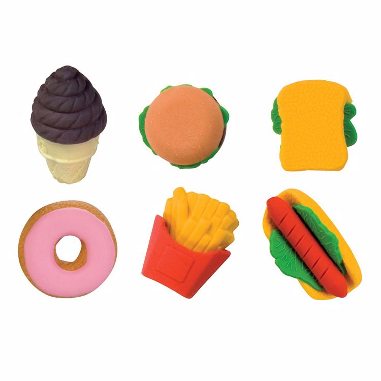 Picture of Snack Attack 3D Scented Eraser Display