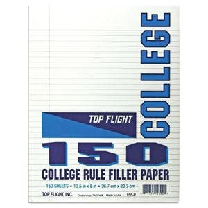 Picture of 8 x 10.5 Looseleaf Paper Pack - College Rule