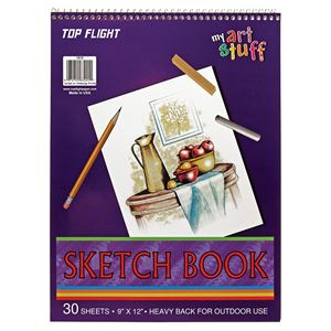 Picture of 9-in x 12-in Spiral Sketch Pads
