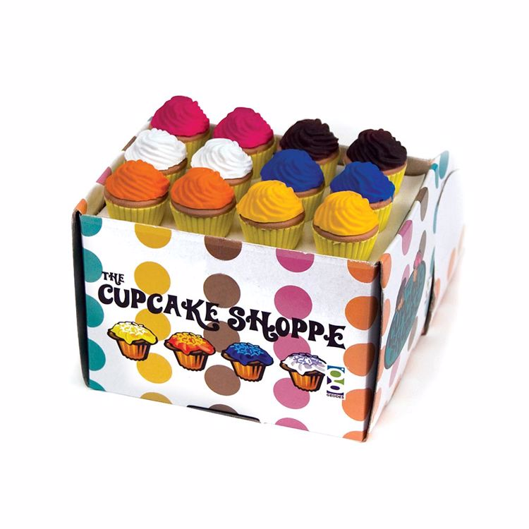 Picture of The Cupcake Shoppe 3D Scented Erasers