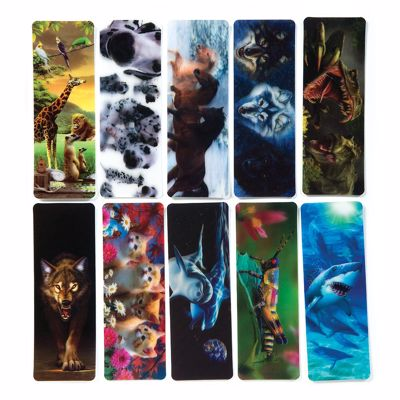 Picture of 3D Lenticular Bookmarks