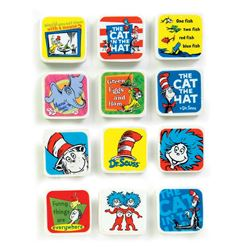 Picture of Dr. Seuss Character Erasers
