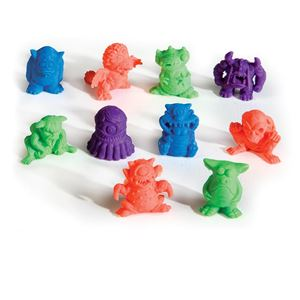 Picture of Collectible Monster Mini Eraser