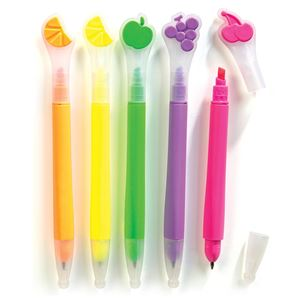 Picture of Study Buddy Fruity Scented Pens and Highlighters