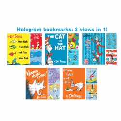 Picture of Dr. Seuss Hologram Bookmarks