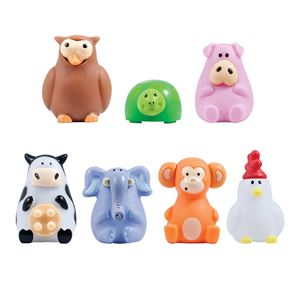 Picture of Animal Poppers Squeeze Toys