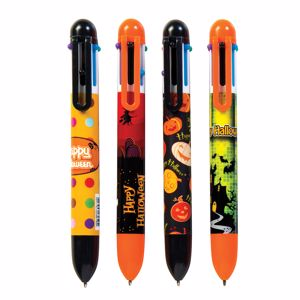 Picture of Halloween 6 Color Pens