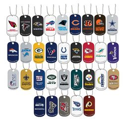 Picture of NFL Dog Tag Necklace and Key Chain Assortment