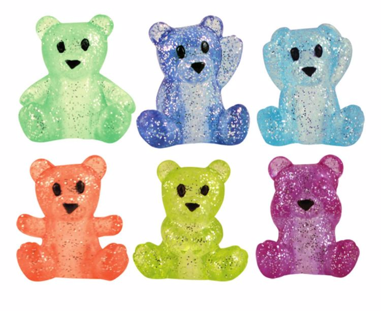 Picture of Twinkle Top Teddy Bears Pencil Toppers