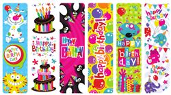 Picture of Happy Birthday Bookmarks
